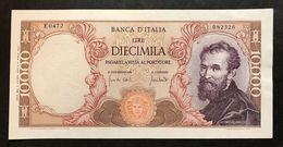 10000 LIRE MICHELANGELO 08 06 1970 Spl    LOTTO 768 - [ 2] 1946-… : Républic