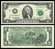 United States 2 DOLLARS Serie L 2003 P 516b UNC ( USA, ETATS UNIS) - Federal Reserve Notes (1928-...)
