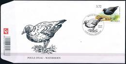 Belgie Belgique  2003 OCBn° FDC 3212 (o) Oblitéré  Cote 9,00 Euro  Fauna Oiseaux Vogels Birds - 2001-10