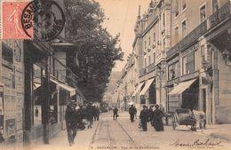 25 - Besançon - Rue De La Préfecture Animée - Besancon