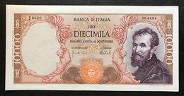 10000 Lire Michelanglo Buonarroti 27 11 1973 Q.spl   LOTTO 780 - [ 2] 1946-… : Républic
