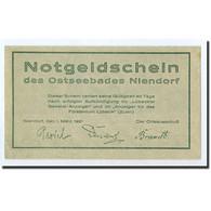 Billet, Allemagne, Niendorf, 75 Pfennig, Paysage, 1921, 1921-03-01, SPL - Germany