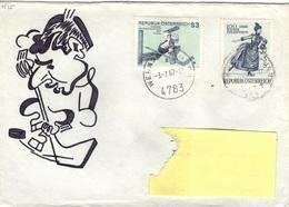 A+ Österreich 1967 Mi 1231 1235 Eislaufverein, Eishockey (UNIKAT) - 1945-.... 2nd Republic