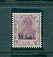 Deutsches Reich / Besetzungen. Etappe West Auf Germania Nr. 9 Postfrisch ** - Besetzungen 1914-18