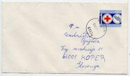 YUGOSLAVIA 1974 Red Cross Postal Stationery Envelope, Used.  Michel U84 - Postal Stationery