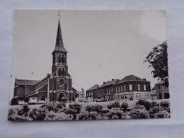 Réf: 99-4-187.           CARNIERES   Eglise Saint-Hilaire   ( Glacée - Grand Format ) - Morlanwelz