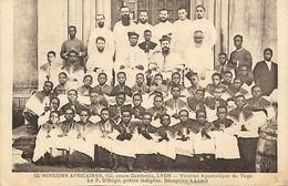 Ref W963- Missions Africaines -vicariat Apostolique Du Togo - Religieux - Carte Bon Etat - - Togo