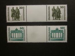 DDR WZ 21 / WZ 22 Postfrisch , Aus MHB 20/21 - Zusammendrucke