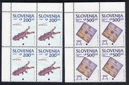 SLOVENIA 1998 Cultural Heritage 200, 500 T In Blocks Of 4 MNH / **.  Michel 245-46 - Slovenia