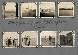 1942/44,- Linz Postlingberg, Kronstein, , 46 Orginal Foto, 8 Scan - Linz Pöstlingberg