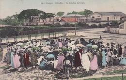 SENEGAL. DAKAR. UN PALABRE DE CHEFS. COLLECTION NOUVELLE, MME BOUCHRIL. CIRCULEE TO BUENOS AIRES-TBE-BLEUP - Senegal