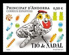 Andorra (ES) 2017 Mih. 460 Christmas. Tio De Nadal MNH ** - Spanish Andorra