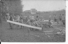 1914-1918 Chasseurs Alpins Infanterie Alpine Artillerie De Montagne Canons De 65mm 1 Carte Photo Ww1 - War, Military