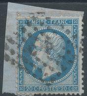 Lot N°41654  Variété/n°22, Oblit Losange C P Des Ambulants, E Relié Au S De POSTES - 1862 Napoleone III
