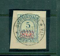 Rumänien Portomarken, Nr.P 1 Gestempelt Auf Briefstück - Besetzungen 1914-18