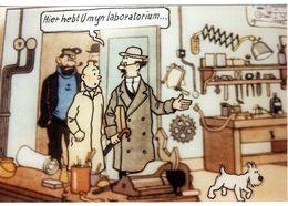 TINTIN  HERGE  HADDOCK  HIET HEBT U MYNLABORATORIUM  -  PAS DE NOM D EDITEUR   -  TIRAGE LIMITE - Fumetti