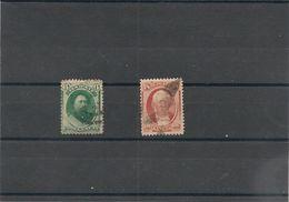 HAWAII Années 1864/71 N°Y/T : 25/26 Ob Côte : 40,00 € - Hawaii