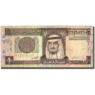 Billet, Saudi Arabia, 1 Riyal, Undated (1984- ), Undated, KM:21c, TB - Arabie Saoudite