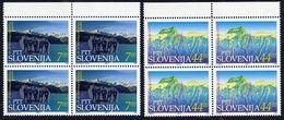 SLOVENIA 1993 Mountaineering Anniversaries Blocks Of 4 MNH / **.  Michel 43-44 - Slovenia