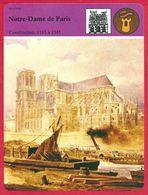 Notre Dame De Paris, Moyen Age, Gothique, Sacre De Napoléon Ier, Victor Hugo - Histoire