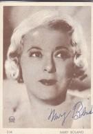 MARY BOLAND. SIGNEE AUTOGRAPHIED CIRCA 1920-TBE-BLEUP - Autogramme & Autographen