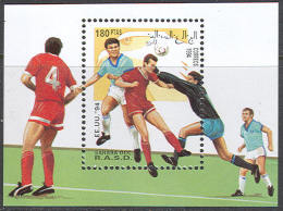 0534 Sport Football Soccer WM Cup FIFA 1994 Shr S/s MNH ** - World Cup