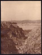 LARGE OLD PHOTO ARGOSTOLI ( Αργοστόλι ) VIEW AT CITY - KEFALONIA - 15.5 X 21.5cm ! - Grèce