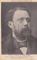 ARMAND GAUTIER. FRENCH PAINTER AND LITHOGRAPHER. SIGNEE AUTOGRAPHIED CIRCA 1880's ADVERTISING VINO BRAVAIS. -TBE-BLEUP - Autografi