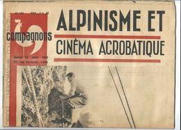"""""""COMPAGNONS"""", L'hebdomadaire Courageux D'une époque Difficile,  N°144 Juillet 1943 - Journaux - Quotidiens"""