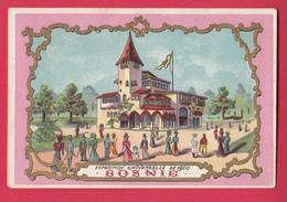 CHROMO Paris Restaurant Du Sentier Rue Montmartre Exposition Universelle De Paris 1900 BOSNIE - Autres