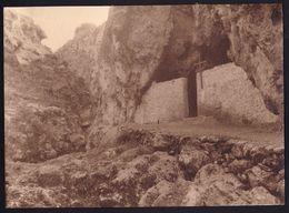 LARGE OLD PHOTO  - ARGOSTOLI - CHURCH OF ST BARBARA -  - 15.5 X 21.5cm ! - Grèce