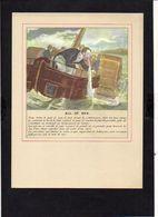 """Publicité Laboratoire Thérica / Médecine / Reproduction D'une Gravure Médicale """" Mal De Mer  """" - Prints & Engravings"""
