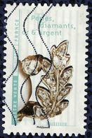 France 2017 Oblitéré Used Fleurs Et Métiers D'Art Perles Diamant Or Et Argent Y&T 1420 - France