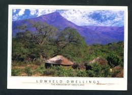 SWAZILAND  -  Lowveld Dwellings  Used Postcard As Scans - Swaziland