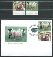 Macedonia 2018 FDC And Stamps.Fauna.Domestic Animals - Sheep/mouton/Schaf  **MNH - Macedonia