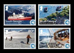 South Georgia 2016 Mih. 674/77 International Association Of Antarctica Tour Operators. Ships MNH ** - South Georgia