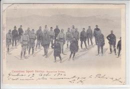 SPORTS D'HIVERS D'AUTREFOIS - SKI, SAUT A SKI,PATINAGE ETC - SOUVENIRS- 1904 - DOS UNIQUE - Canada