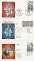 1577/79 FDC SÉRIE Du 16/11/68 - JEANNE D'ARC / DU GUESCLIN /  PHILIPPE LE BEL - 1960-1969