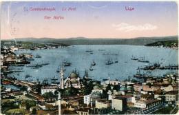 TURKYE  TURKIYE  TURCHIA  COSTANTINOPLE   ISTANBUL  Le Port  Der Hafen - Turchia