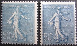 Lot FD/1203 - 1921 - TYPE SEMEUSE LIGNEE- N°161 (2 Nuances) - Cote : 60,00 € - France