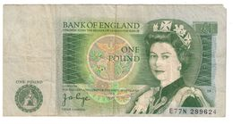 Great Britain 1 Pound Cut Error ? - 1952-… : Elizabeth II