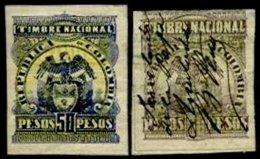 COLOMBIA, Revenues, */o M/U, F/VF - Colombia
