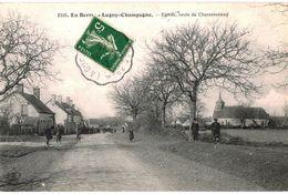 CPA N°20332 - LUGNY EN CHAMPAGNE - ENTREE ROUTE DE CHARENTONNAY - France