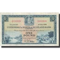 Billet, Scotland, 1 Pound, 1958, 1958-05-01, KM:191b, TTB - [ 3] Scotland