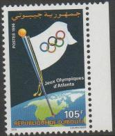 DJIBOUTI,1996,ATLANTA OLYMPICS, 1v,MICHEL 624, MNH - Ete 1996: Atlanta