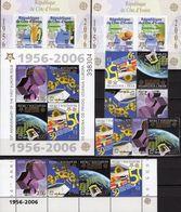 Palme Cote Ivoire Blocks 169+173, Bosnien 166/9,ZD,VB+Bl.7 ** 92€ Hb Blocs M/s Sheets Map S/s Bf 50 Years CEPT 2006 - Lots & Kiloware (mixtures) - Max. 999 Stamps