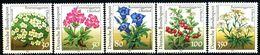 BRD - Mi 1505 / 1509 - ** Postfrisch (H) - Pflanzen Aus Dem Rennsteiggarten - Unused Stamps