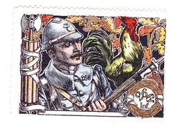 Vignette Militaire Delandre - 266ème Régiment D'infanterie - Vignettes Militaires
