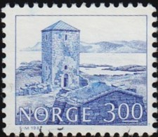 NORWAY - Scott #723 Selje Monastery (*) / Used Stamp - Abbazie E Monasteri