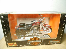 Harley Davidson Maisto 1:18 1993 Flsts Heritage Springer 1999 - Motorcycles